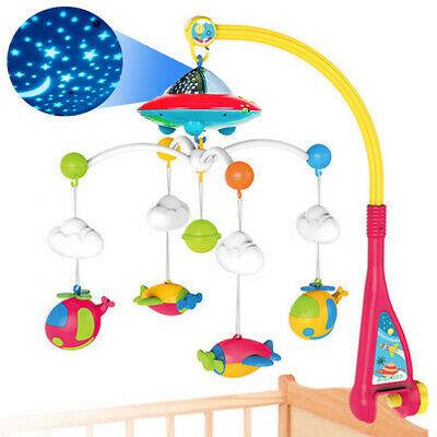 Battery operated Baby Bedding Musical Mobile Music Box With 128M Micro SD Card