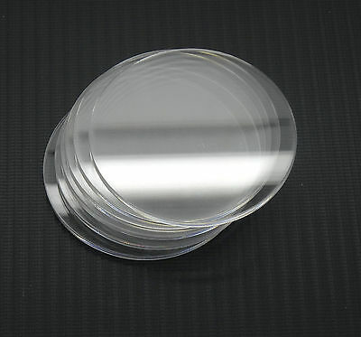 4mm Acrylic/Perspex Discs - ALL SIZES - Extruded or Cast - FREE CUSTOM SIZES CUT