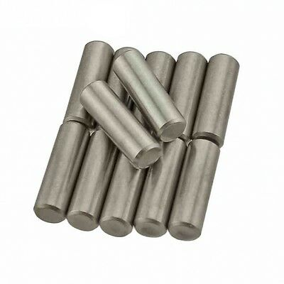 M8 / 8mm Metric Solid Dowel Pin Rod Position Pins A2 304 Stainless Steel
