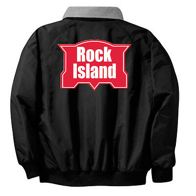 Chicago Rock Island & Pacific Embroidered Jacket Front and Rear [19r]