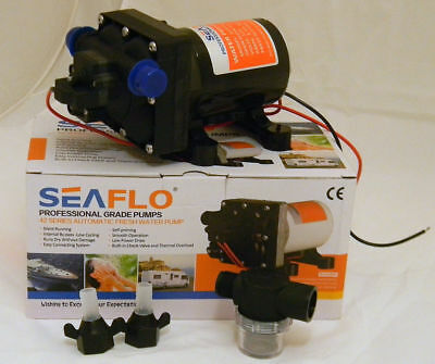 Seaflo 12V 42 Series New Auto Fresh Water Pump 11L Caravan Camping RV Boat Part