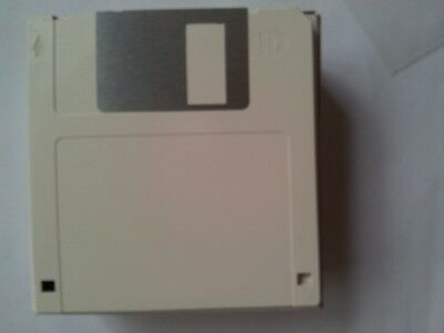 "40 x Mitsubishi Verbatim Floppy Disk MF2-HD 3.5"" 1.44Mb IBM Formatted 40pk Grey"