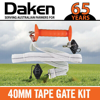 Electric Fence DAKEN TAPE GATE KIT