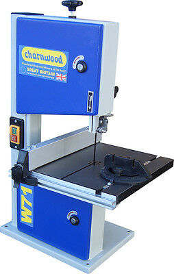 CHARNWOOD W711 8'' Woodworking Bandsaw with Cast Iron Table