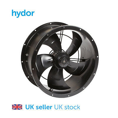 Cased Axial Extractor Fan 250mm/10inch 2400rpm For Warehouse / Restaurant etc