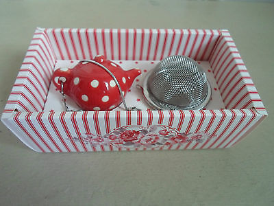 GreenGate Coco Red Tea Infuser
