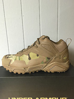 Under Armour Tactical Tabor Ridge Low coyote multicam size 9. Free Shipping