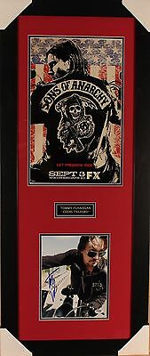 Tommy Flannagan Autographed Framed 8X10 Sons Of Anarchy Picture  Psa #y79588