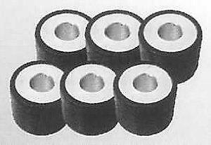 YAMAHA AEROX 50 ROLLERS 15mmX 12mm - 5.5g PART NO VY19253