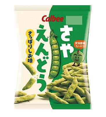 F/S Calbee peas refreshing Salty 70g × 6 or 12 bags Made in japan