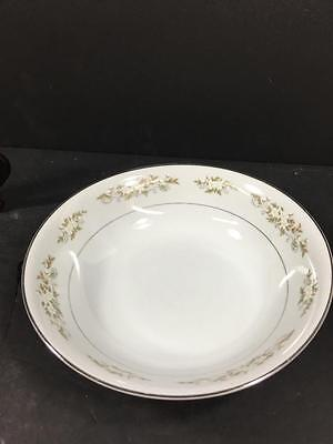 "International Silver Co Fine China #326 Round 9"" Serving Bowls (#1759)"