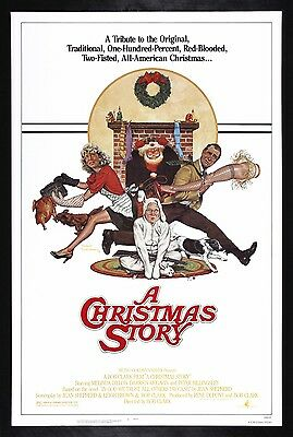 A CHRISTMAS STORY * CineMasterpieces ORIGINAL MOVIE POSTER RARE ROLLED NSS 1983