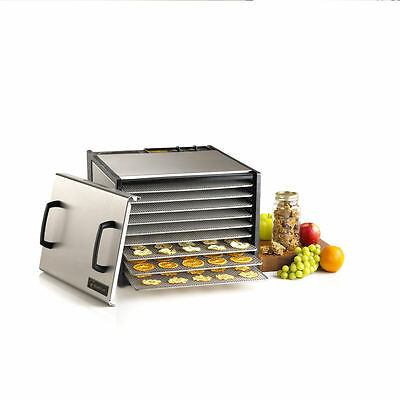 Excalibur 9-Tray Outer Case Stainless Steel w/Stainless Steel Trays  D902SHDG UK