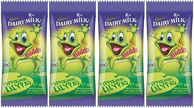 Bulk Lot 36 x Cadbury Dairy Milk Peppermint Lilypad Freddo Frog 15g Bars New