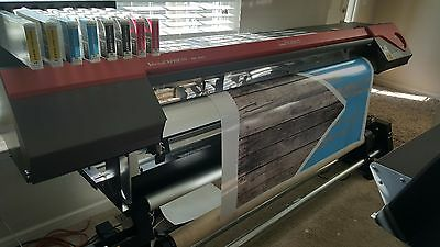 New 2 Weeks Old - Roland VersaExpress RF640 Wide-Format Printer with Take-up