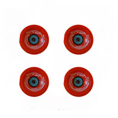 Easy People Longboards Speed Cruise wheel Set Solid Orange with ,ABEC-7,Spacer