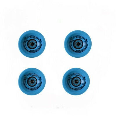 Easy People Longboards Speed Cruise wheel Set Solid Blue with ,ABEC-7,Spacer