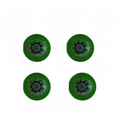 Easy People Longboards Speed Cruise wheel Set Gel Green  with ,ABEC-7,Spacer