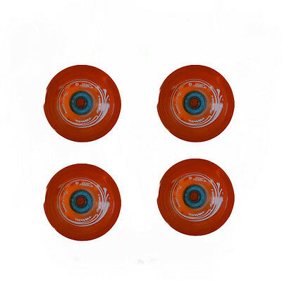 Easy People Longboards Speed Cruise wheel Set Gel Orange  with ,ABEC-7,Spacer