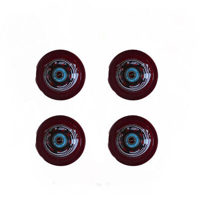 Easy People Longboards Speed Cruise wheel Set Gel Red  with ,ABEC-7,Spacer