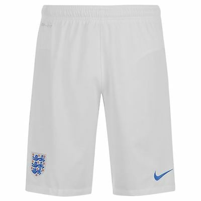 Nike England World Cup 2014/15 Home Football Shorts White New 588078-105