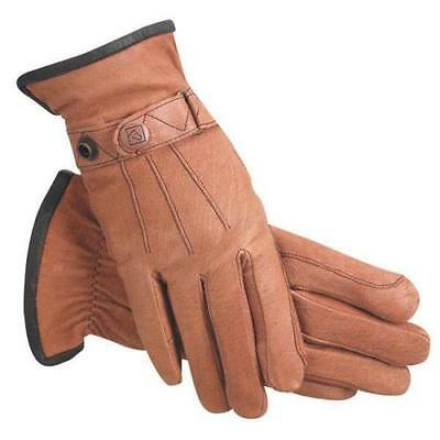 SSG Work 'N Horse Leather Gloves #2400 - Natural Tan - ALL Sizes