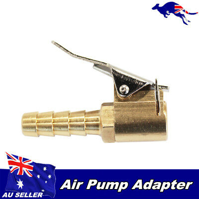 1PC Car Truck Tire Tyre Inflator Valve Connector Air Chuck Brass 8mm Portable