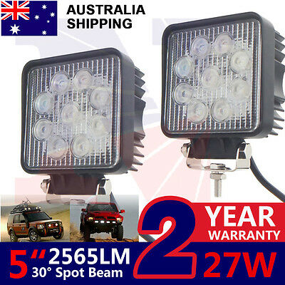 2x27w Led Work Light Marine Lamp Offroad Truck ATV Boat 12v Lovol Valtra Tractor