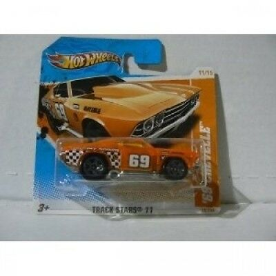 Hot Wheels Track Stars '11 11/15 '69 Chevelle. Delivery is Free