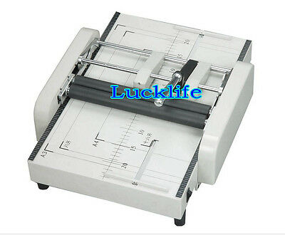 Manual A3 Paper Binding and Folding Booklet Maker Booklet Making Machine 220V H