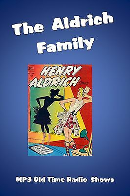 Aldrich Family  85 (OTR) Old Time Radio Shows MP3 on a single CD