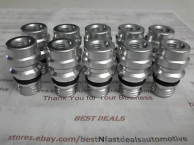 20 pcs A//C Service Ports// Adapters OE Style w// Ball Valves GM//Ford Low /&Hi Side