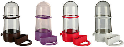 Bird Water & Food Dispenser Bird Cage Seed Water Bottle Various Colours 265ml