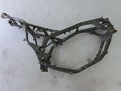 Yamaha FZX 750 Fazer, 2JE, 85-90, Rahmen mit Brief, Frame with Papers