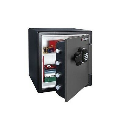 Electronic Safe Box Cash Steel Storage Electronic Lock Home Hotel Fire Proof