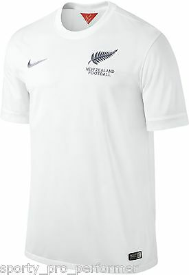 Nike 2014 World Cup New Zealand Home Football Stadium Jersey NWT Mens Large