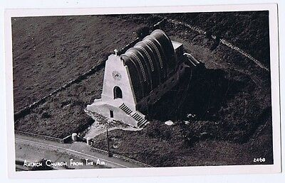 AMLWCH Church from the Air, RP Postcard by Airviews, Unused