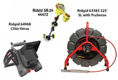 Ridgid 325' Color SL TS Reel (63583) Seektech SR-24 (44473) CS6X Versa (64968)