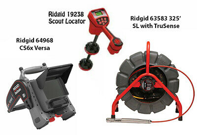 Ridgid 325' Color SL TS Reel (63583) Navitrack Scout (19238)  CS6X Versa (64968)