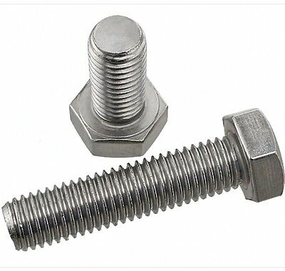 M6 M8 M10 M12 Hex Tap Bolts Left Hand Threaded Hex Head Cap Screws A2 Stainless