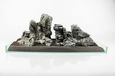 20 Kg Grey Mountain Rock Stone Aquarium Iwagumi Style Set Of Stones Aquascaping