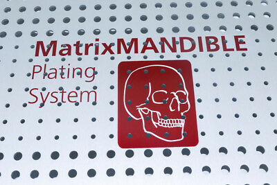 """NEW"" Synthes MatrixMANDIBLE Plating System Sterilization ""Case & Lid ONLY"" 306."