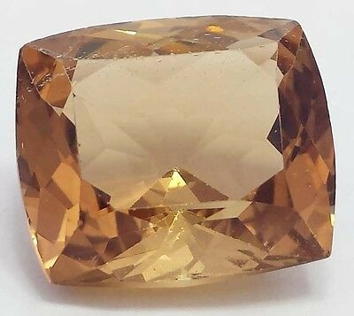 vvs 20.25 carat hot imperial topaz faceted loose huge piece top quality material