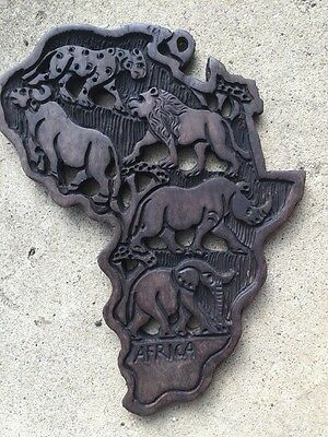 African Wooden Flag