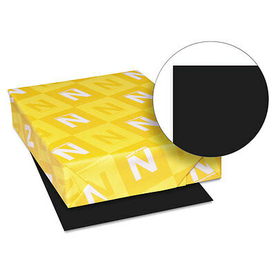 Neenah Paper Astrobrights Colored Paper 24lb 8-1/2 x 11 Eclipse Black 500 Sheets