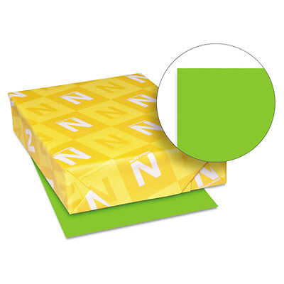 Astrobrights Colored Card Stock 65 lb. 8-1/2 x 11 Martian Green 250 Sheets 21811