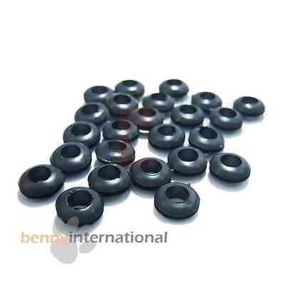 10x 8mm GROMMETS - Cable Hole 8mm & Panel Hole 10mm Glassware Wiring Car 4WD