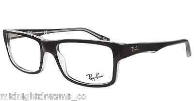 121792fc0d NEW RAY-BAN RX-ABLE Eyeglasses Frames RB 5245 2034 54-17 Black on ...