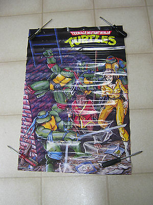 TMNT Teenage Mutant Ninja Turtles poster, 1988, Mirage Studios