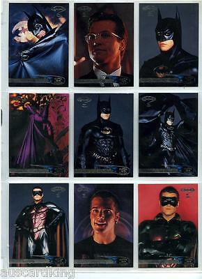 Batman Forever - Trading Card Set (120) - 1995 Fleer ULTRA - NM
